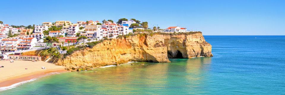 Onder actie van de maand en boven het stukje Algarve